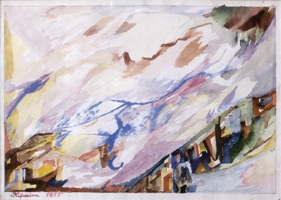 07.Alois Kuperion, Landschaft, 1955, Mischtechnik.jpg