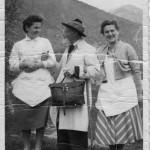 Alois Kuperion mit Marie Alber