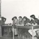 Assemblea sindacale all' Urania - Gewerkschaftversammlung in der Urania.