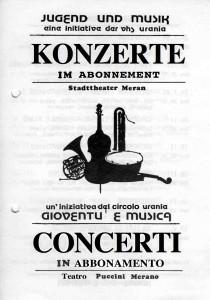 kONZERTKALENDER 84-85