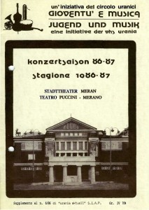 kONZERTKALENDER 86-87