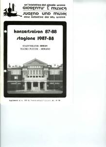 kONZERTKALENDER 87-88